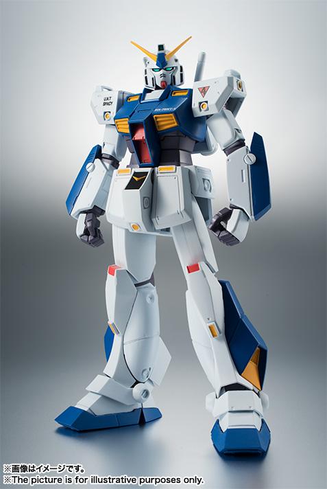 【再販】ROBOT魂〈SIDE MS〉『RX-78NT-1 ガンダムNT-1 ver. A.N.I.M.E.』可動フィギュア-001