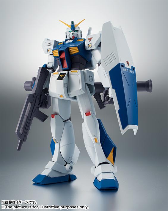 【再販】ROBOT魂〈SIDE MS〉『RX-78NT-1 ガンダムNT-1 ver. A.N.I.M.E.』可動フィギュア-002