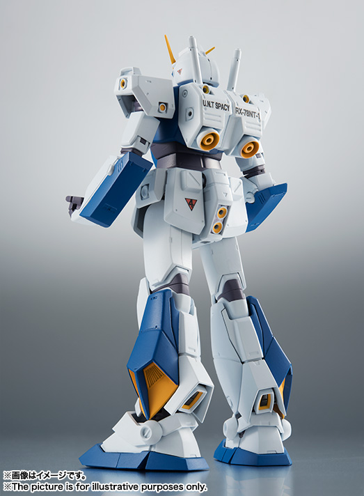 【再販】ROBOT魂〈SIDE MS〉『RX-78NT-1 ガンダムNT-1 ver. A.N.I.M.E.』可動フィギュア-003
