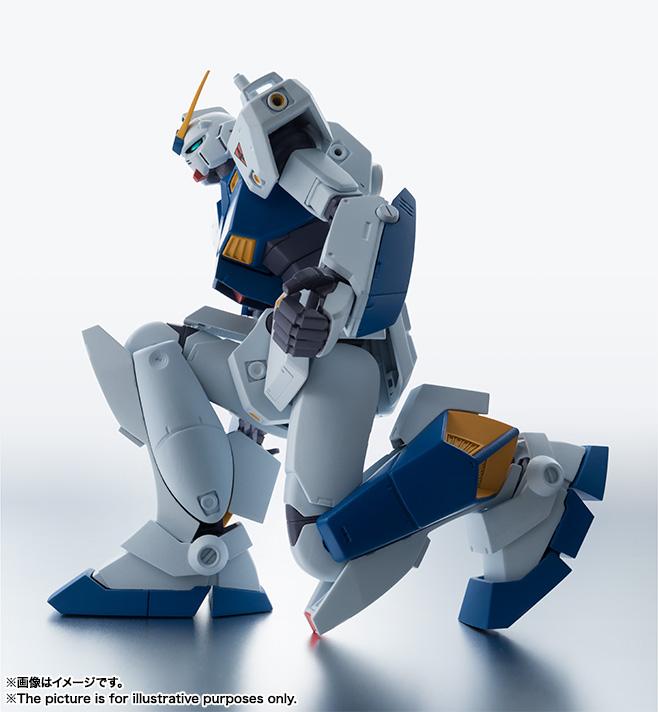 【再販】ROBOT魂〈SIDE MS〉『RX-78NT-1 ガンダムNT-1 ver. A.N.I.M.E.』可動フィギュア-004