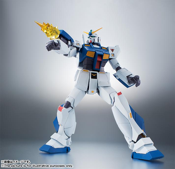 【再販】ROBOT魂〈SIDE MS〉『RX-78NT-1 ガンダムNT-1 ver. A.N.I.M.E.』可動フィギュア-006