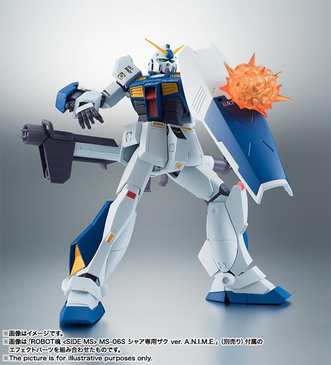 【再販】ROBOT魂〈SIDE MS〉『RX-78NT-1 ガンダムNT-1 ver. A.N.I.M.E.』可動フィギュア-008