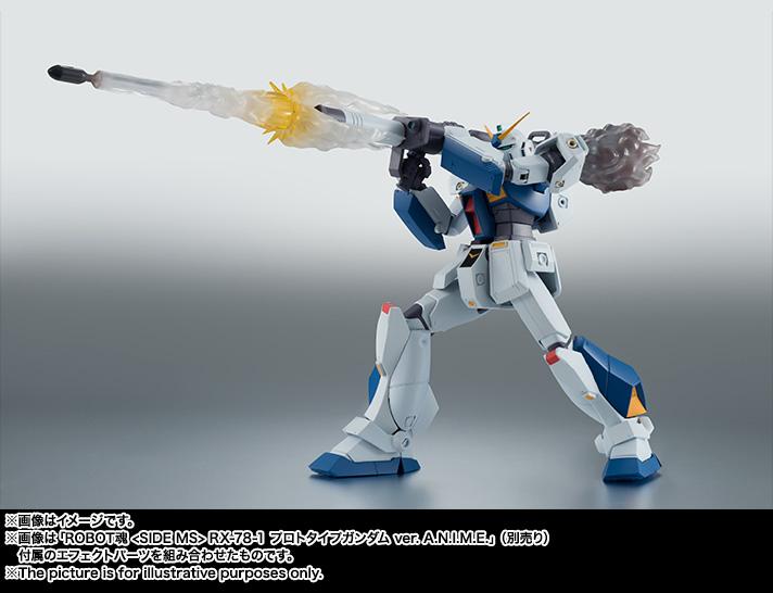 【再販】ROBOT魂〈SIDE MS〉『RX-78NT-1 ガンダムNT-1 ver. A.N.I.M.E.』可動フィギュア-009