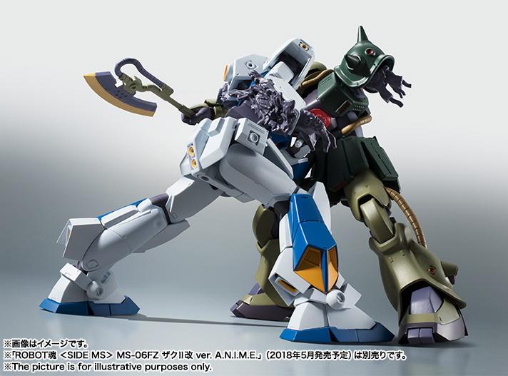 【再販】ROBOT魂〈SIDE MS〉『RX-78NT-1 ガンダムNT-1 ver. A.N.I.M.E.』可動フィギュア-018