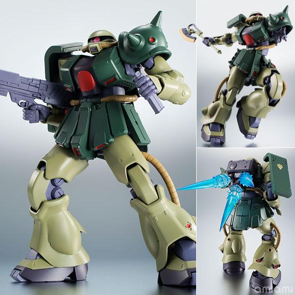 【再販】ROBOT魂〈SIDE MS〉『MS-06FZ ザクII改 ver. A.N.I.M.E.』可動フィギュア