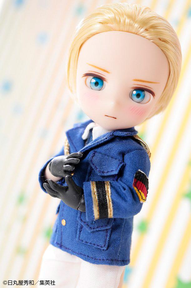 DOLPokke(ドルポッケ)No.003『ドイツ』ヘタリア World☆Stars 完成品ドール-007