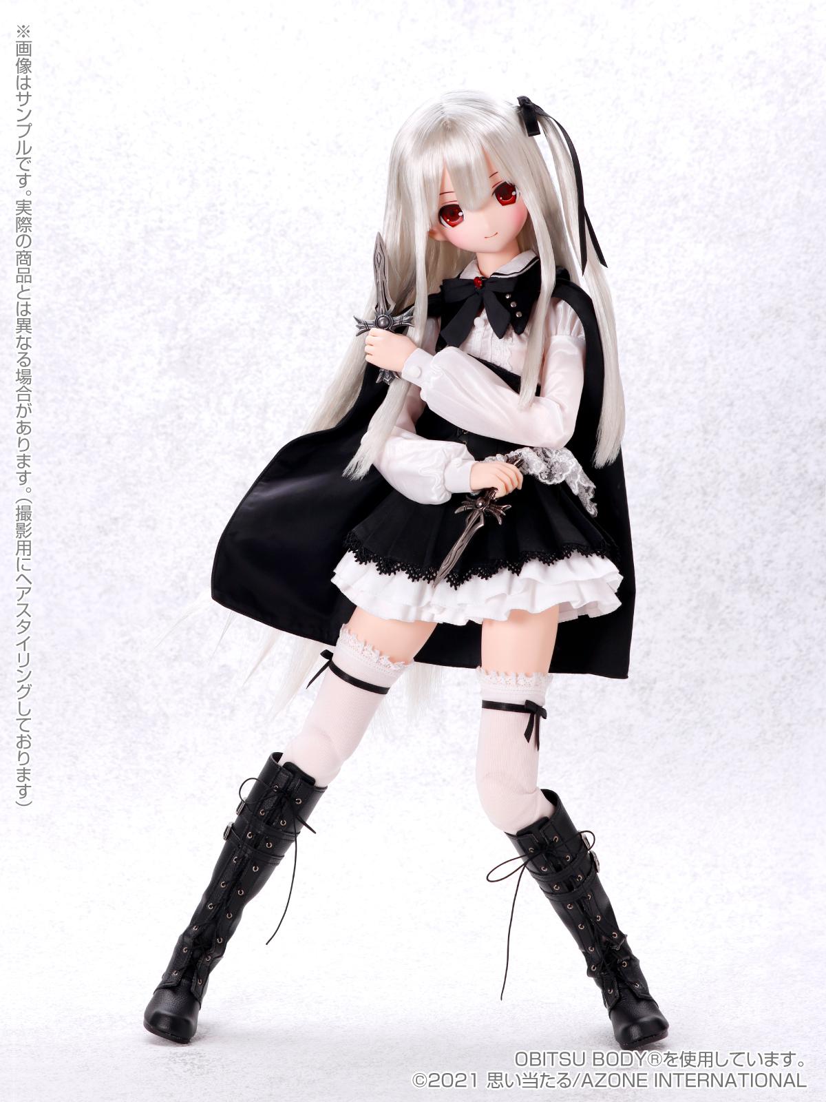 Black Raven『Lilia(リリア)The fury of VAMPIRE~二つの十字架~』1/3 完成品ドール-002