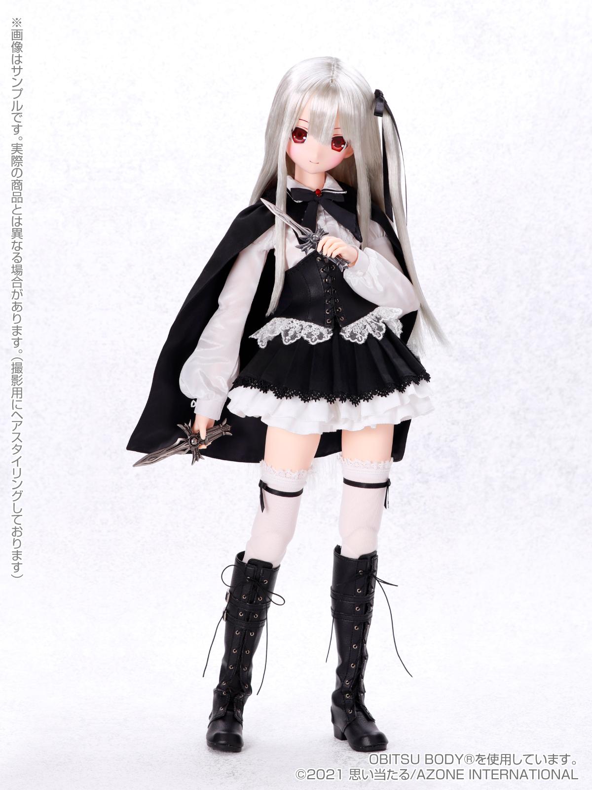 Black Raven『Lilia(リリア)The fury of VAMPIRE~二つの十字架~』1/3 完成品ドール-005