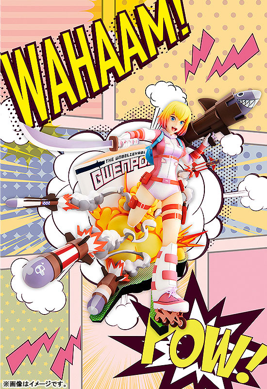 マーベル・コミック『グウェンプール ブレイキング・ザ・フォースウォール』1/8 完成品フィギュア-007