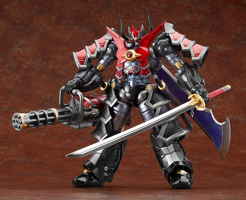 HAGANE WORKS『マジンカイザー刃皇 魔陣セット』可動フィギュア-002