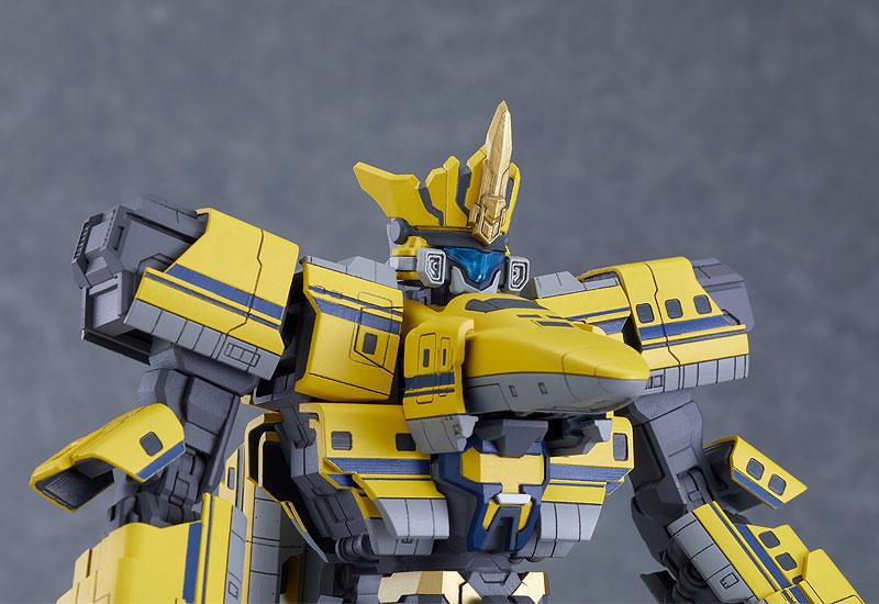 MODEROID『シンカリオン ドクターイエロー』新幹線変形ロボ シンカリオン プラモデル-008