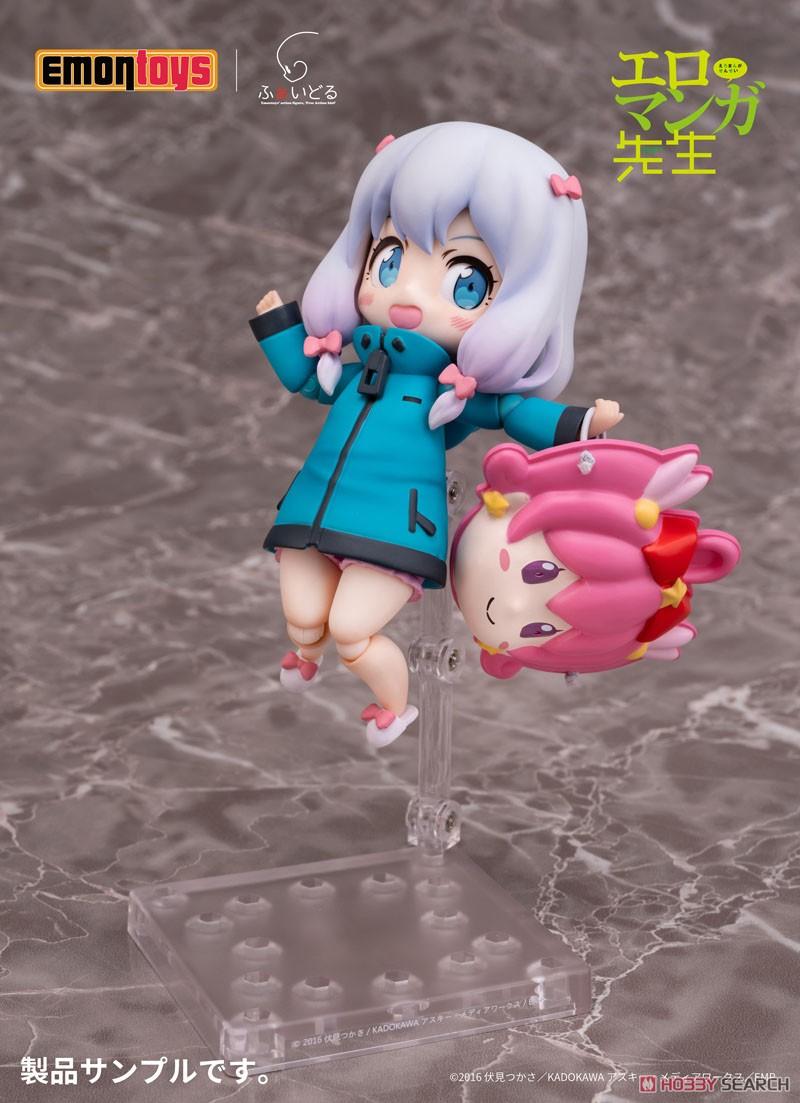 ふぁいどる Vol.1『和泉紗霧』エロマンガ先生 デフォルメ可動フィギュア-002
