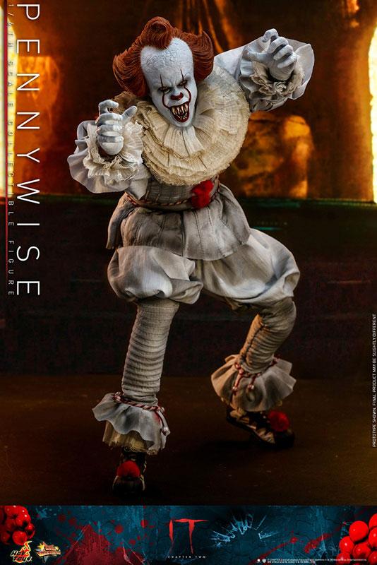 ムービー・マスターピース『ペニーワイズ』IT/イット THE END 1/6 可動フィギュア-008