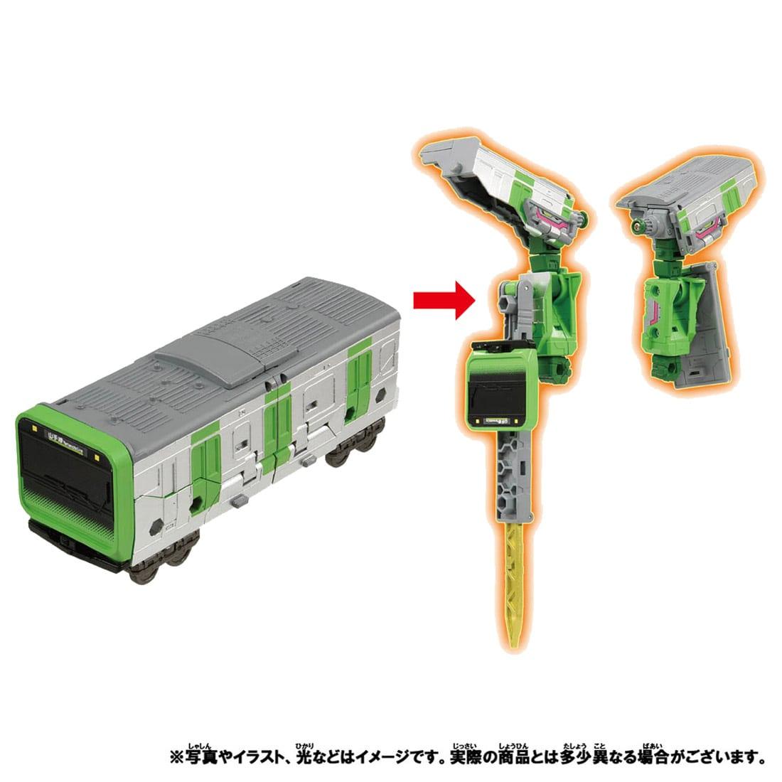 新幹線変形ロボ シンカリオンZ『シンカリオンZ E5ヤマノテセット』可変合体プラレール-008
