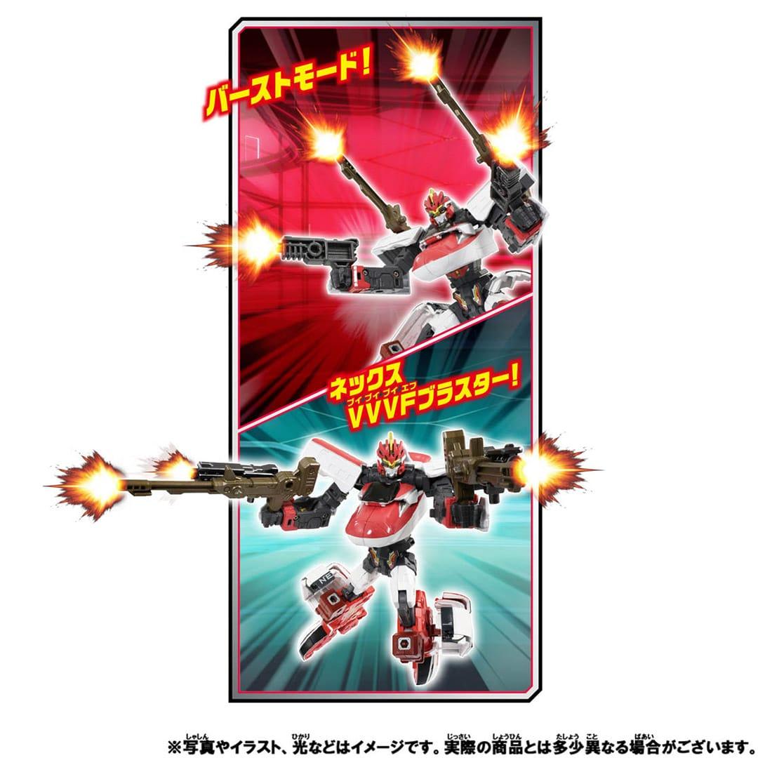 新幹線変形ロボ シンカリオンZ『シンカリオンZ E5ヤマノテセット』可変合体プラレール-014