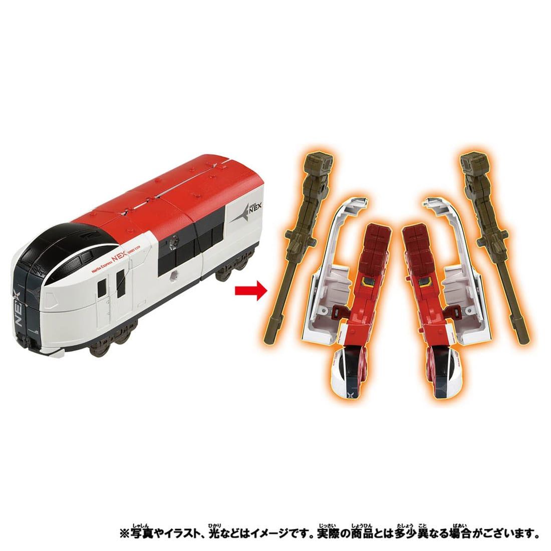 新幹線変形ロボ シンカリオンZ『シンカリオンZ E5ヤマノテセット』可変合体プラレール-017