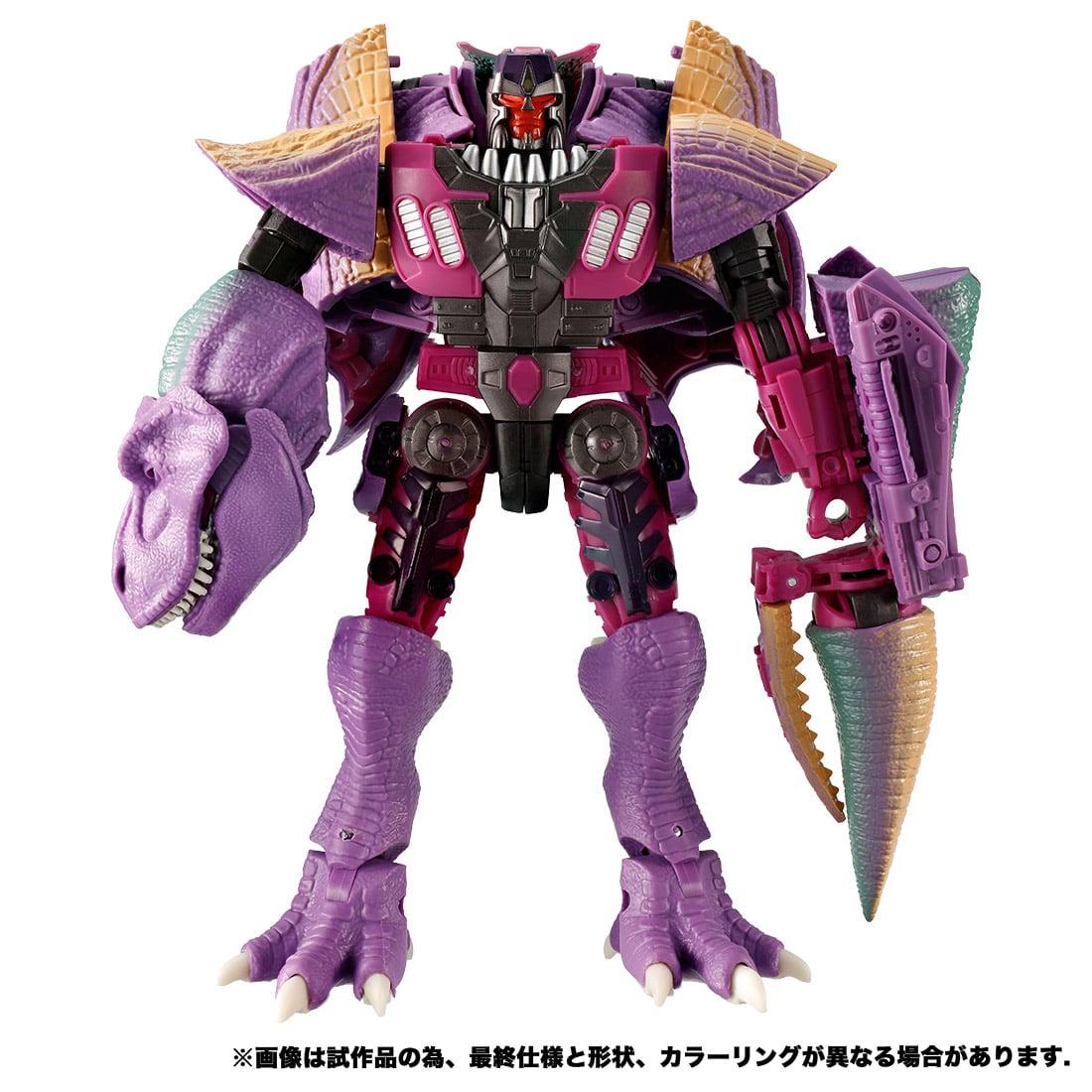 トランスフォーマー キングダム『KD-04 メガトロン(ビースト)』ビーストウォーズ 可変可動フィギュア-005