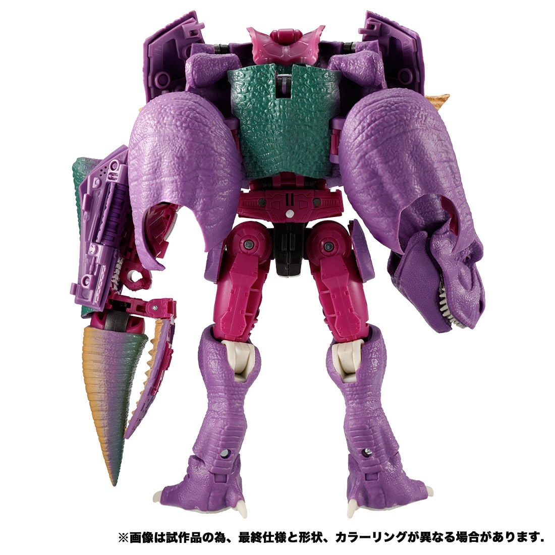 トランスフォーマー キングダム『KD-04 メガトロン(ビースト)』ビーストウォーズ 可変可動フィギュア-006