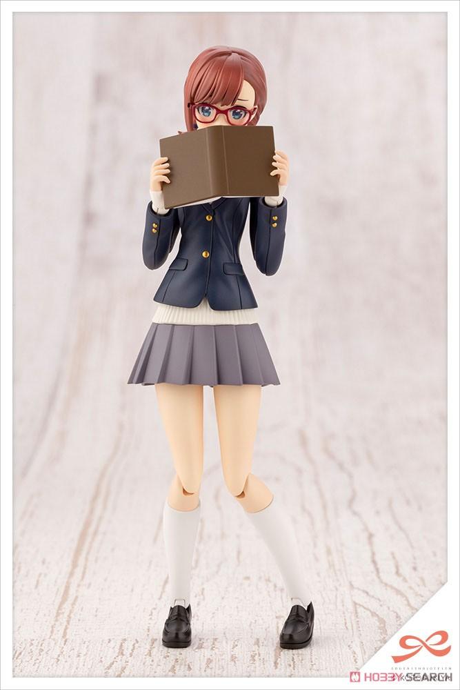 創彩少女庭園『小鳥遊暦[令法高等学校・冬服]』プラモデル-006