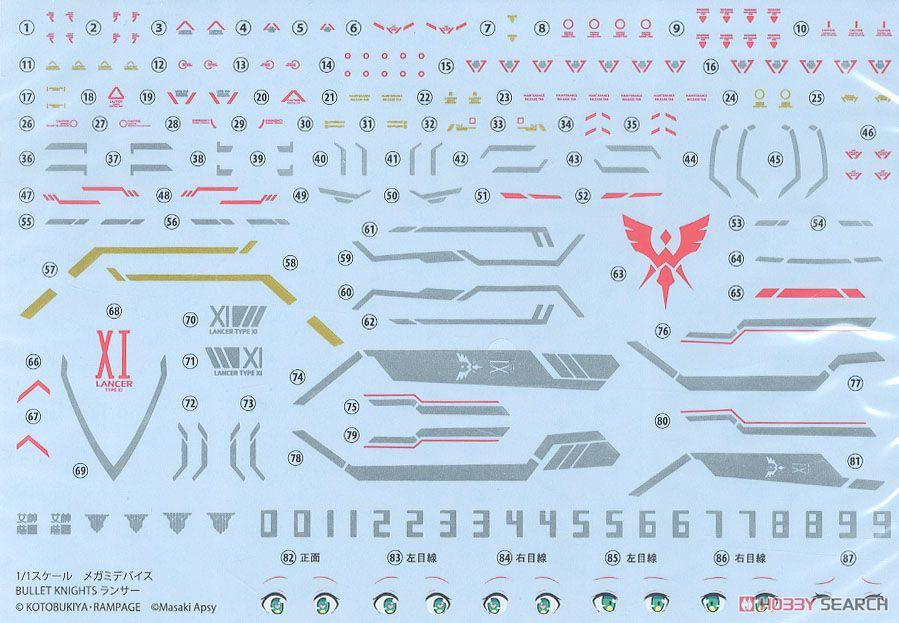 【再販】メガミデバイス『BULLET KNIGHTS ランサー』1/1 プラモデル-021