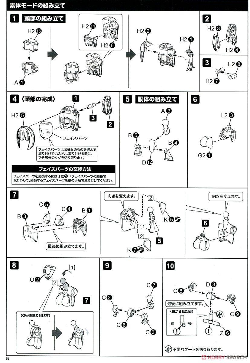 【再販】メガミデバイス『BULLET KNIGHTS ランサー』1/1 プラモデル-026