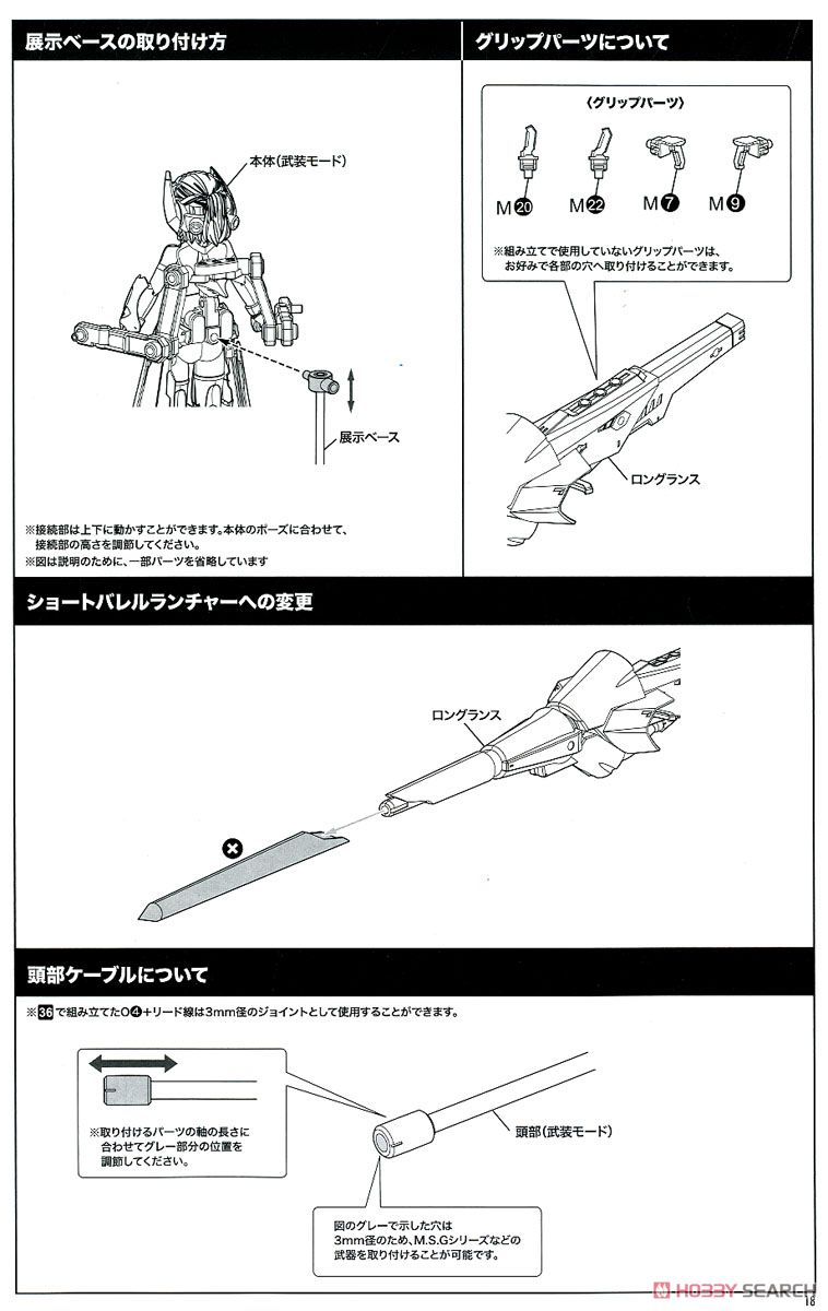 【再販】メガミデバイス『BULLET KNIGHTS ランサー』1/1 プラモデル-039