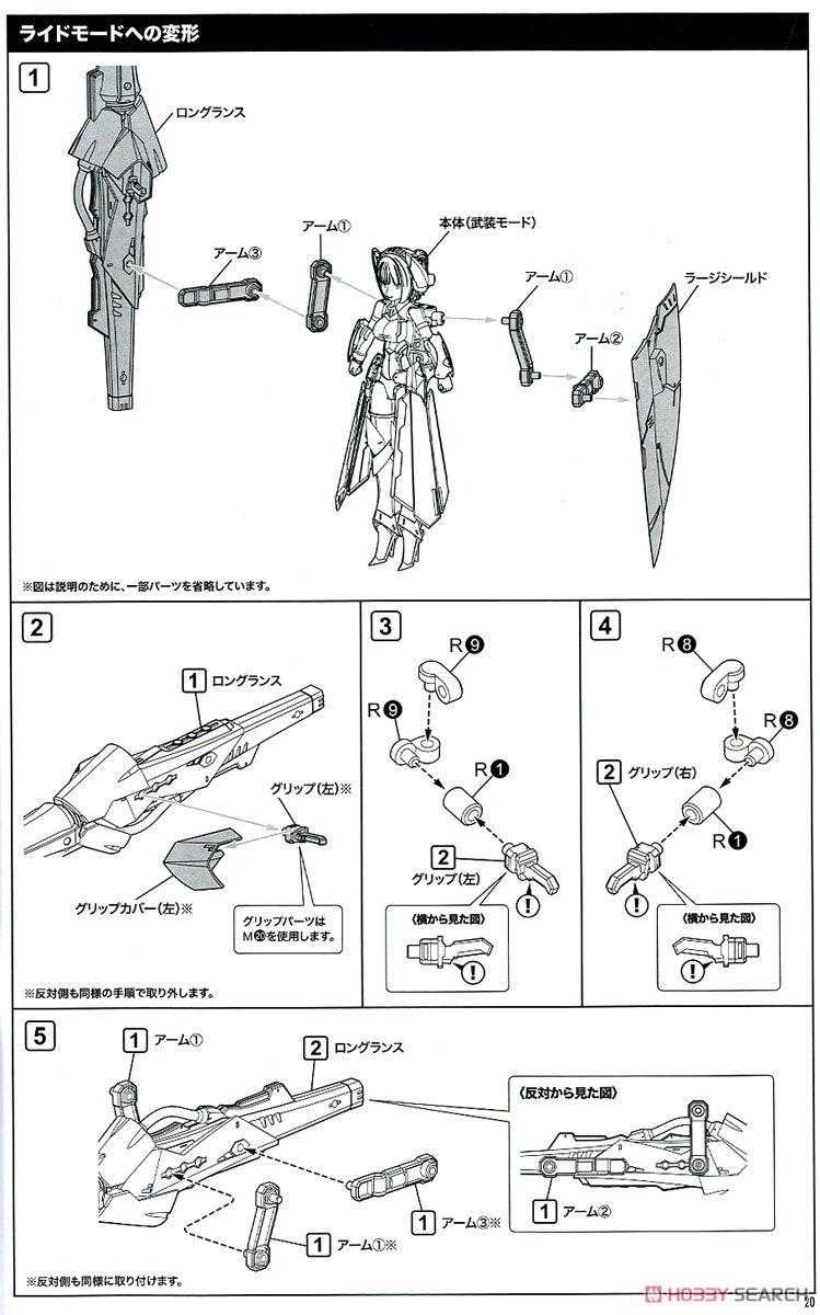【再販】メガミデバイス『BULLET KNIGHTS ランサー』1/1 プラモデル-041