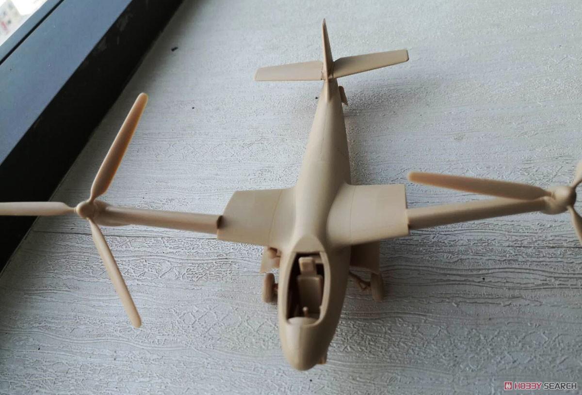1/48『ドイツ ヴェーザーフルーク P.1003/1』プラモデル-003