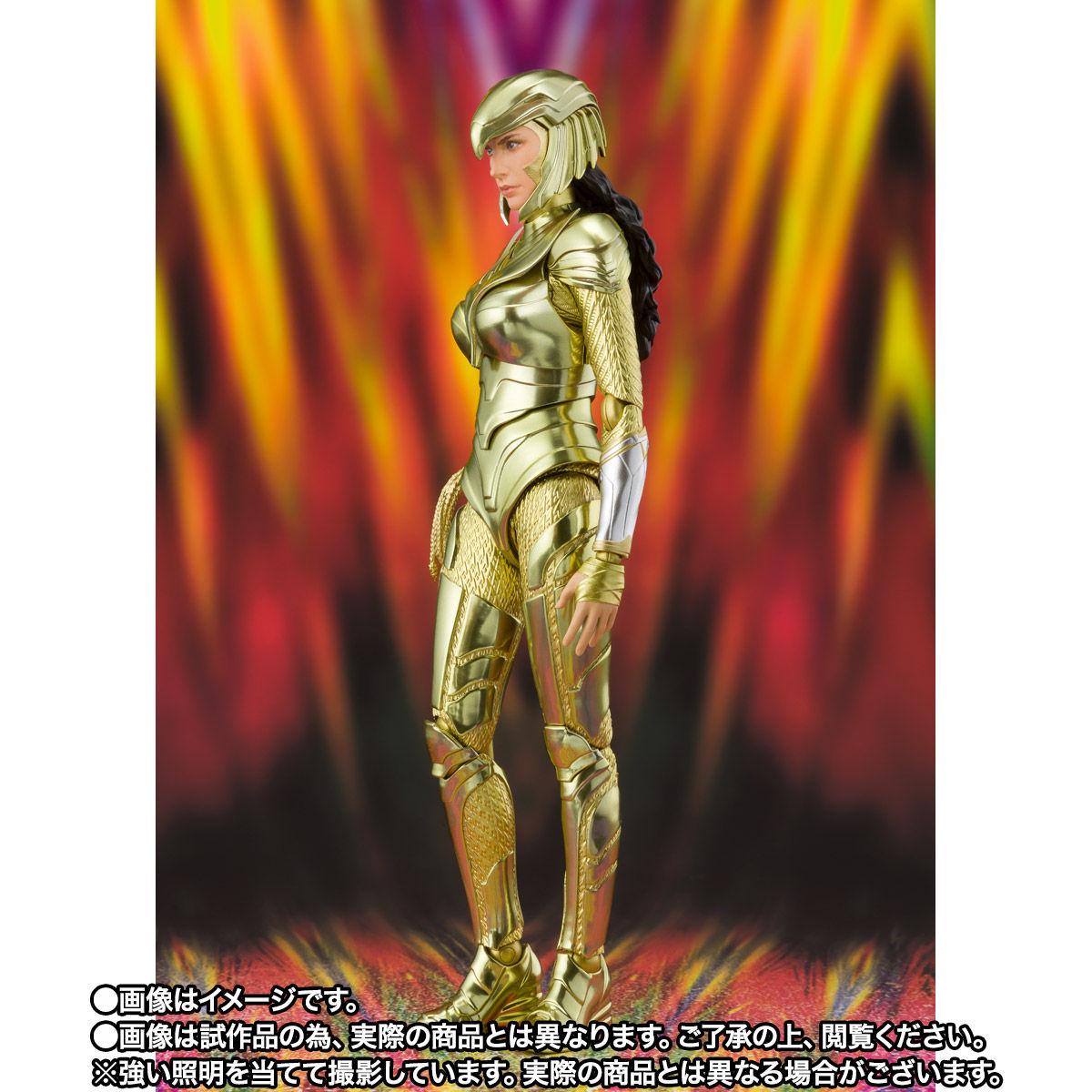 【限定販売】S.H.Figuarts『ワンダーウーマン ゴールドアーマー(WW84)』ワンダーウーマン 1984 可動フィギュア-003