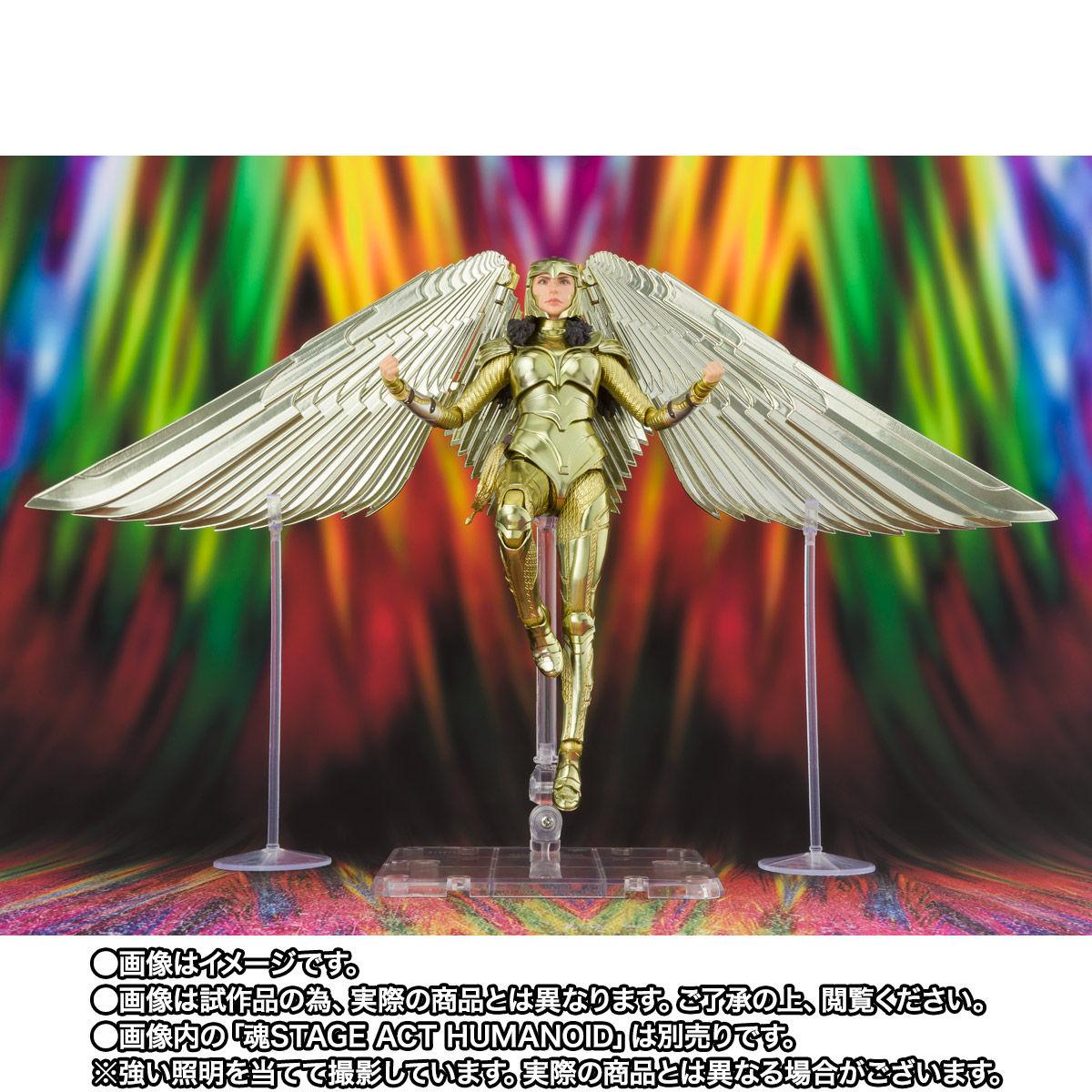 【限定販売】S.H.Figuarts『ワンダーウーマン ゴールドアーマー(WW84)』ワンダーウーマン 1984 可動フィギュア-006