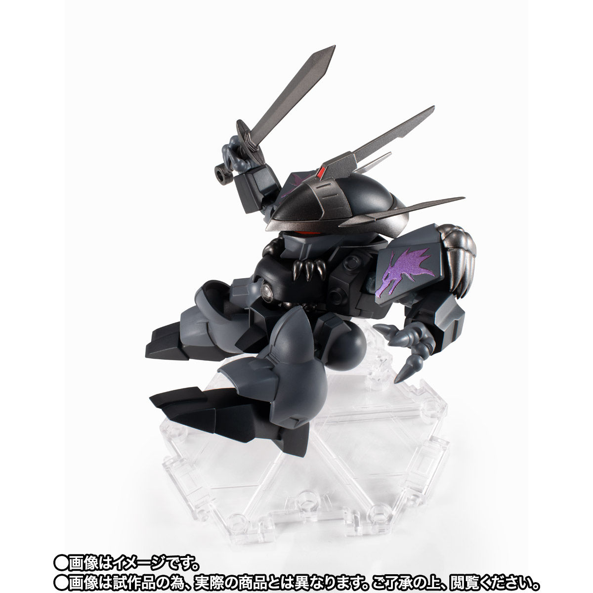 NXEDGE STYLE[MASHIN UNIT]『龍神丸-黒闇-』魔神英雄伝ワタル 可動フィギュア-006