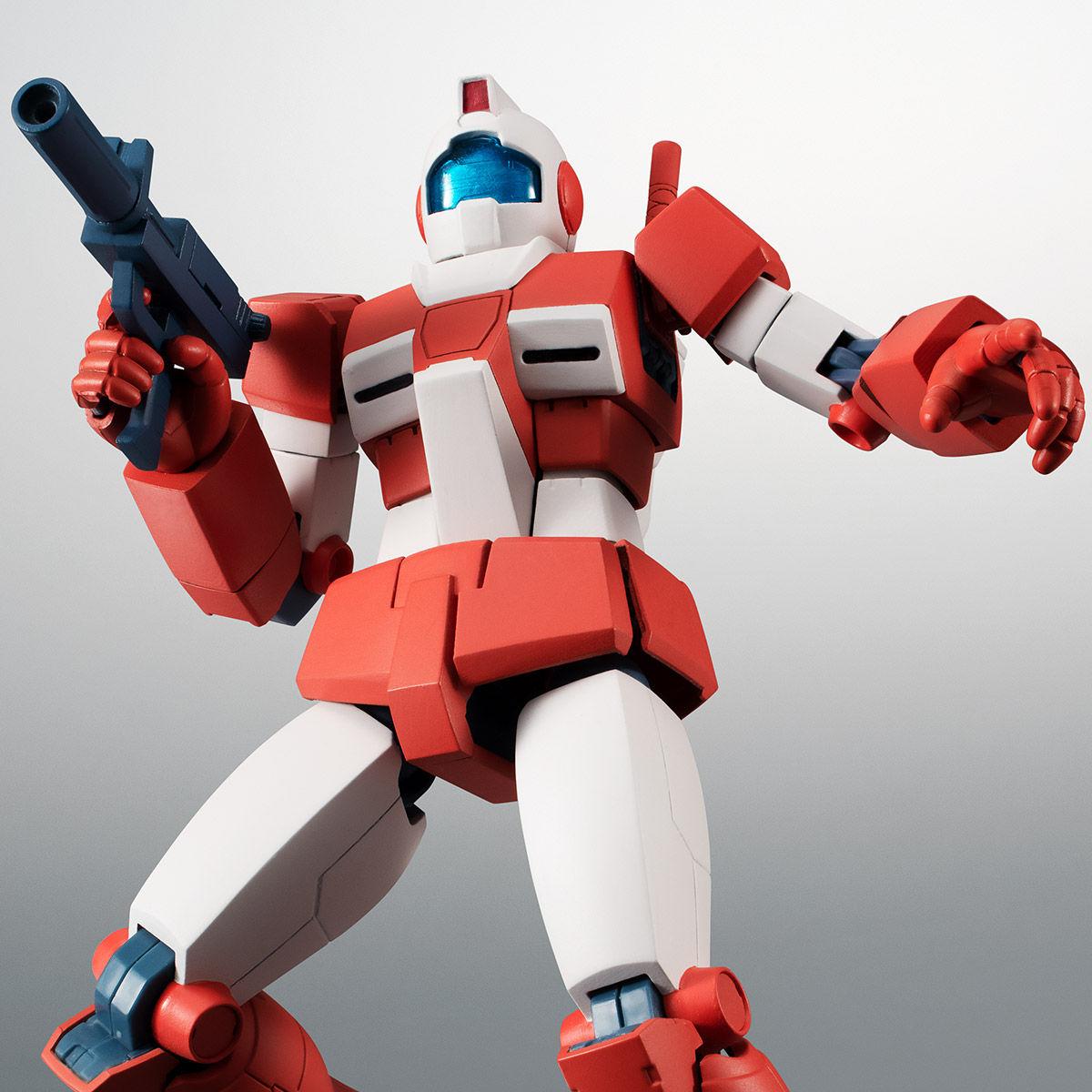 【限定販売】ROBOT魂〈SIDE MS〉『RGM-79L ジム・ライトアーマー ver. A.N.I.M.E.』ガンダムMSV 可動フィギュア-001