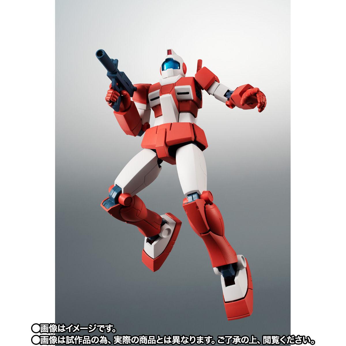【限定販売】ROBOT魂〈SIDE MS〉『RGM-79L ジム・ライトアーマー ver. A.N.I.M.E.』ガンダムMSV 可動フィギュア-002