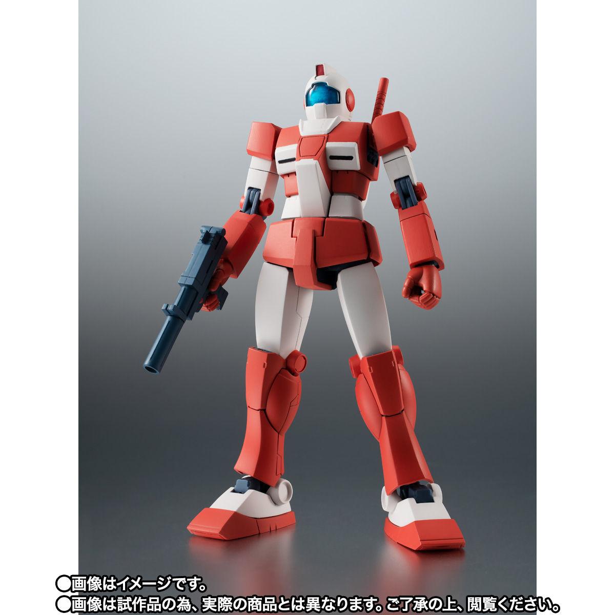 【限定販売】ROBOT魂〈SIDE MS〉『RGM-79L ジム・ライトアーマー ver. A.N.I.M.E.』ガンダムMSV 可動フィギュア-003