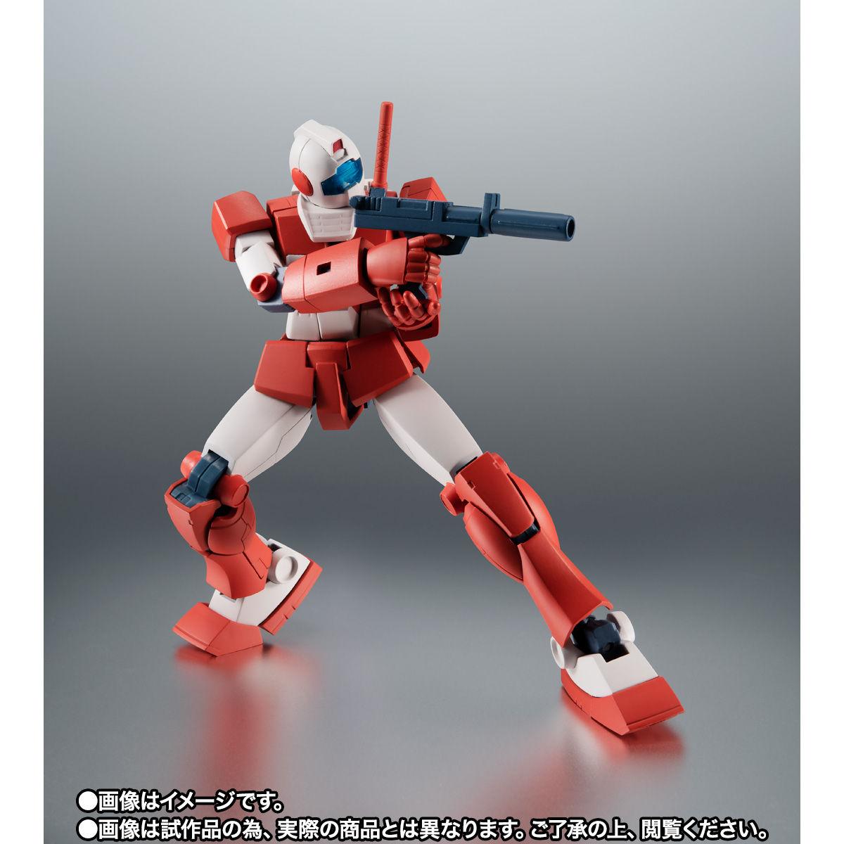 【限定販売】ROBOT魂〈SIDE MS〉『RGM-79L ジム・ライトアーマー ver. A.N.I.M.E.』ガンダムMSV 可動フィギュア-005
