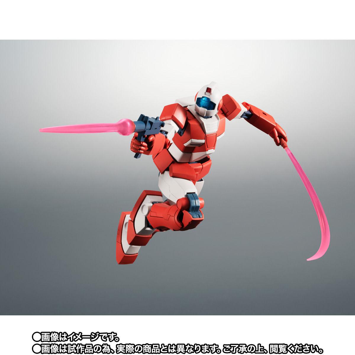 【限定販売】ROBOT魂〈SIDE MS〉『RGM-79L ジム・ライトアーマー ver. A.N.I.M.E.』ガンダムMSV 可動フィギュア-006