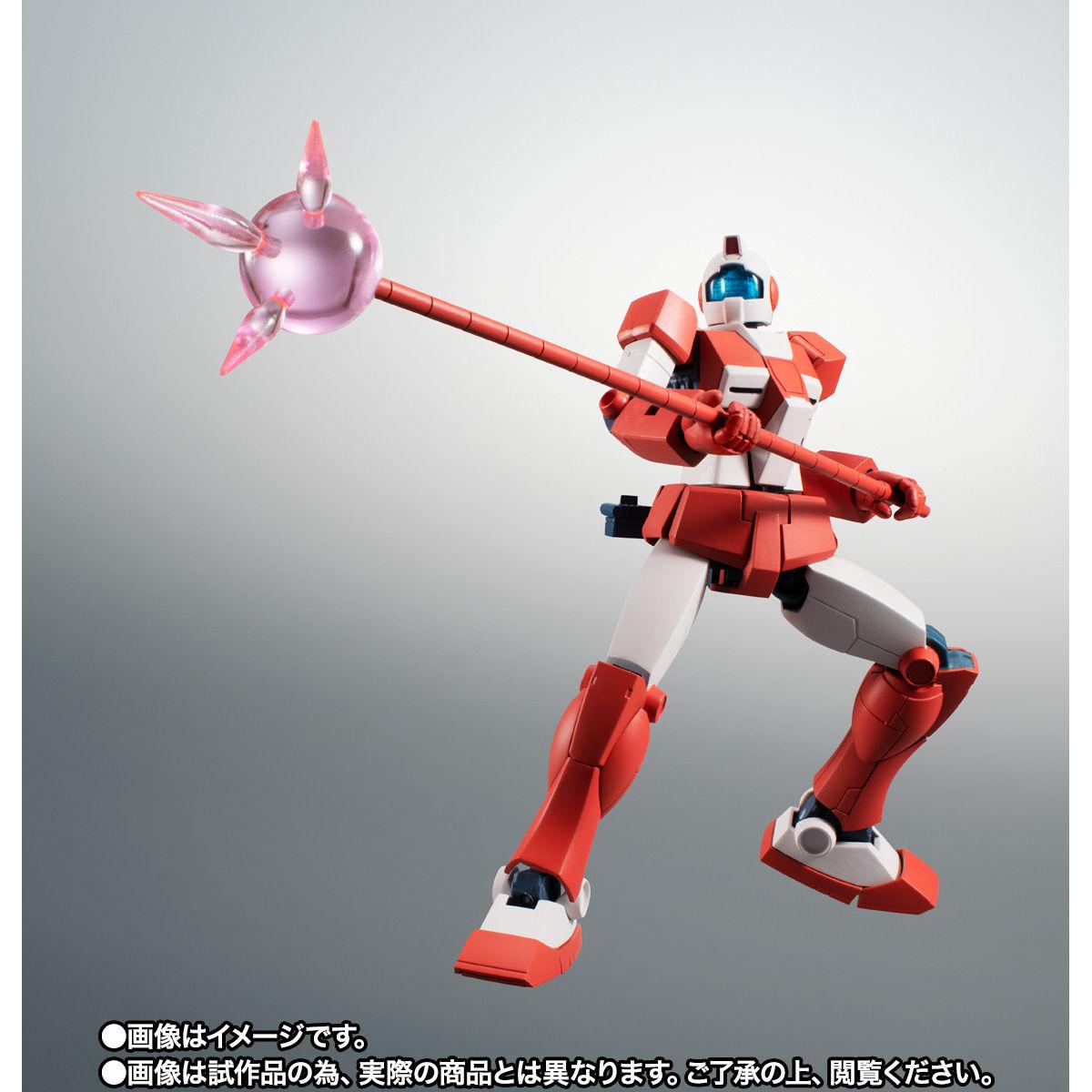 【限定販売】ROBOT魂〈SIDE MS〉『RGM-79L ジム・ライトアーマー ver. A.N.I.M.E.』ガンダムMSV 可動フィギュア-008