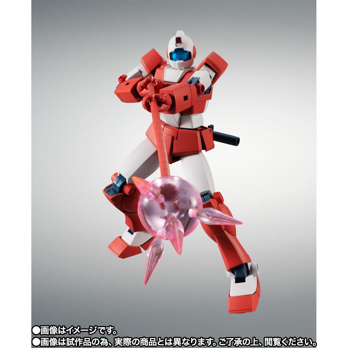 【限定販売】ROBOT魂〈SIDE MS〉『RGM-79L ジム・ライトアーマー ver. A.N.I.M.E.』ガンダムMSV 可動フィギュア-009