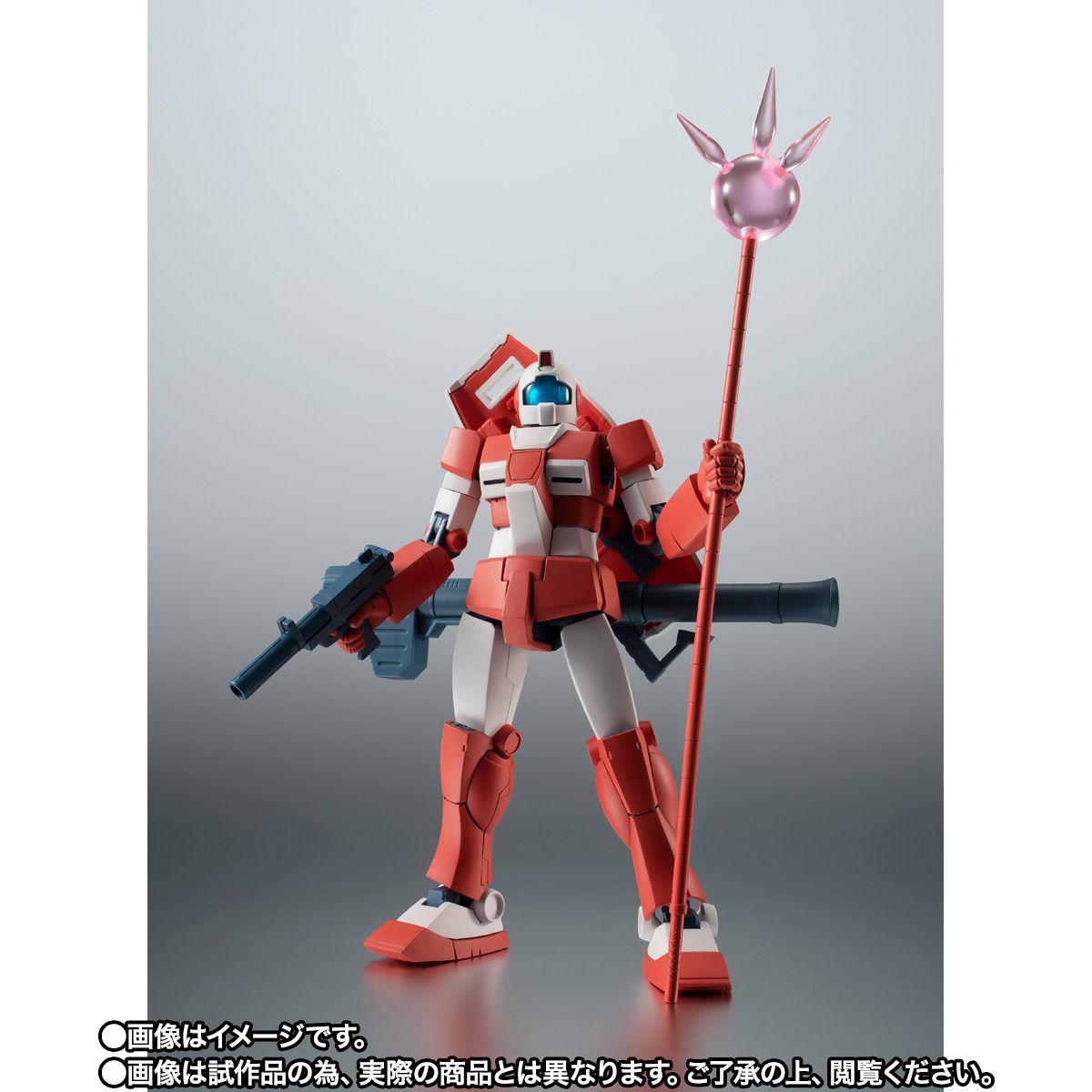 【限定販売】ROBOT魂〈SIDE MS〉『RGM-79L ジム・ライトアーマー ver. A.N.I.M.E.』ガンダムMSV 可動フィギュア-010
