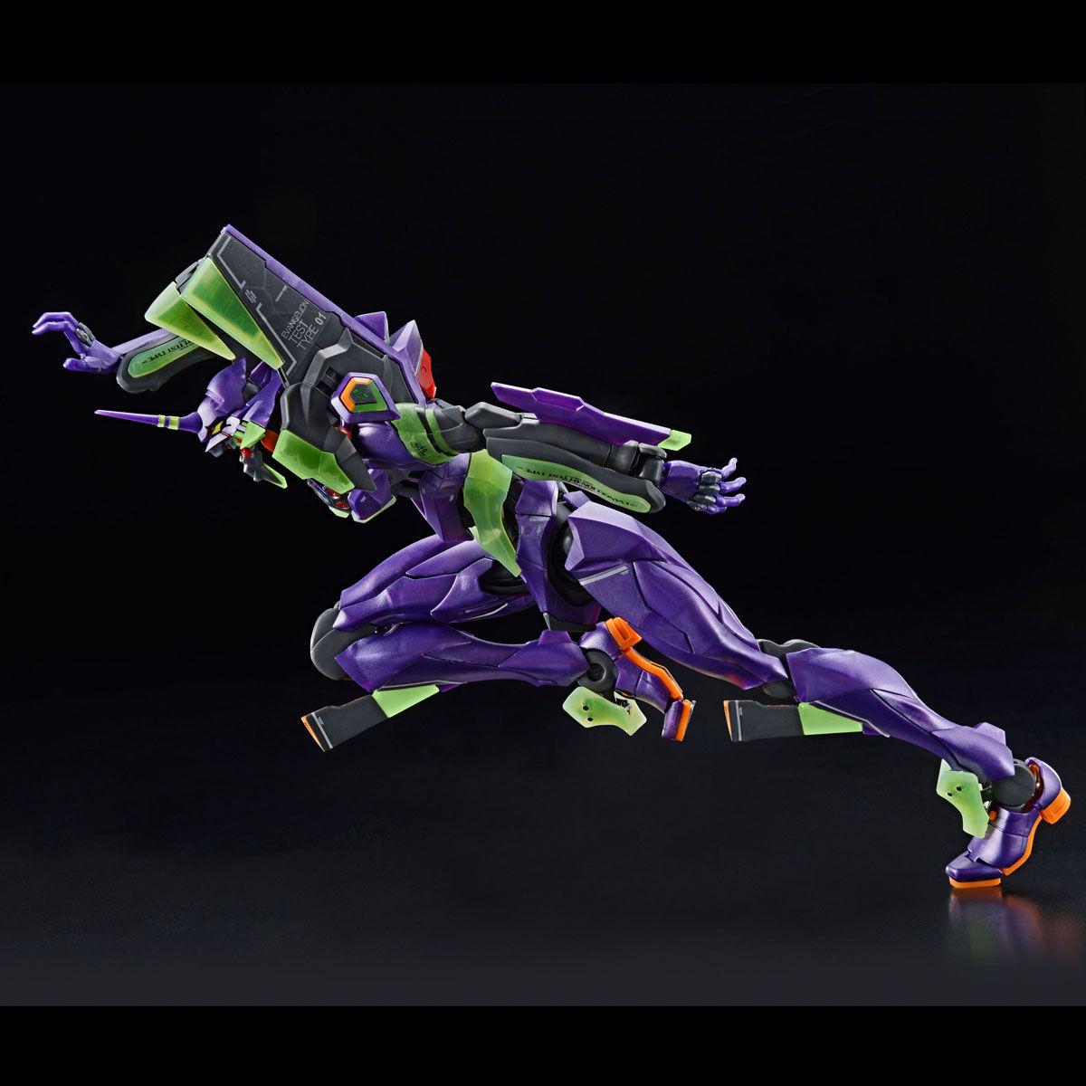 【限定販売】RG『汎用ヒト型決戦兵器 人造人間エヴァンゲリオン初号機(夜間戦闘仕様)』プラモデル-005