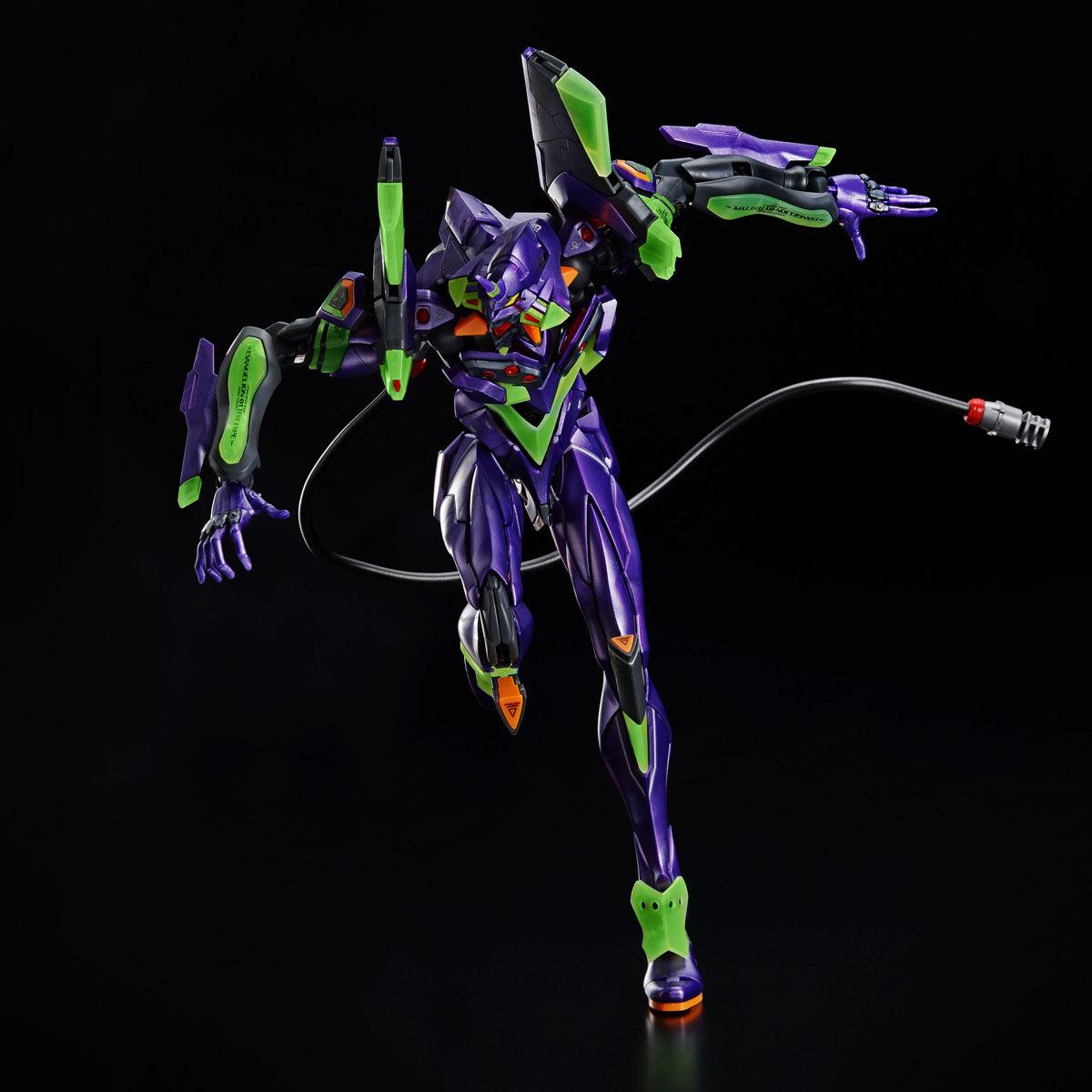 【限定販売】RG『汎用ヒト型決戦兵器 人造人間エヴァンゲリオン初号機(夜間戦闘仕様)』プラモデル-007