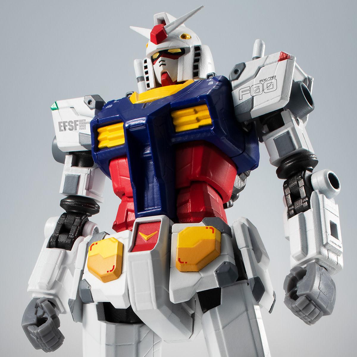【限定販売】ROBOT魂〈SIDE MS〉『RX-78F00 ガンダム』可動フィギュア-001