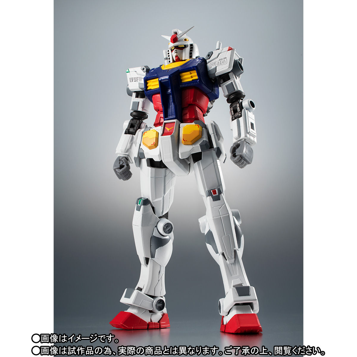 【限定販売】ROBOT魂〈SIDE MS〉『RX-78F00 ガンダム』可動フィギュア-002