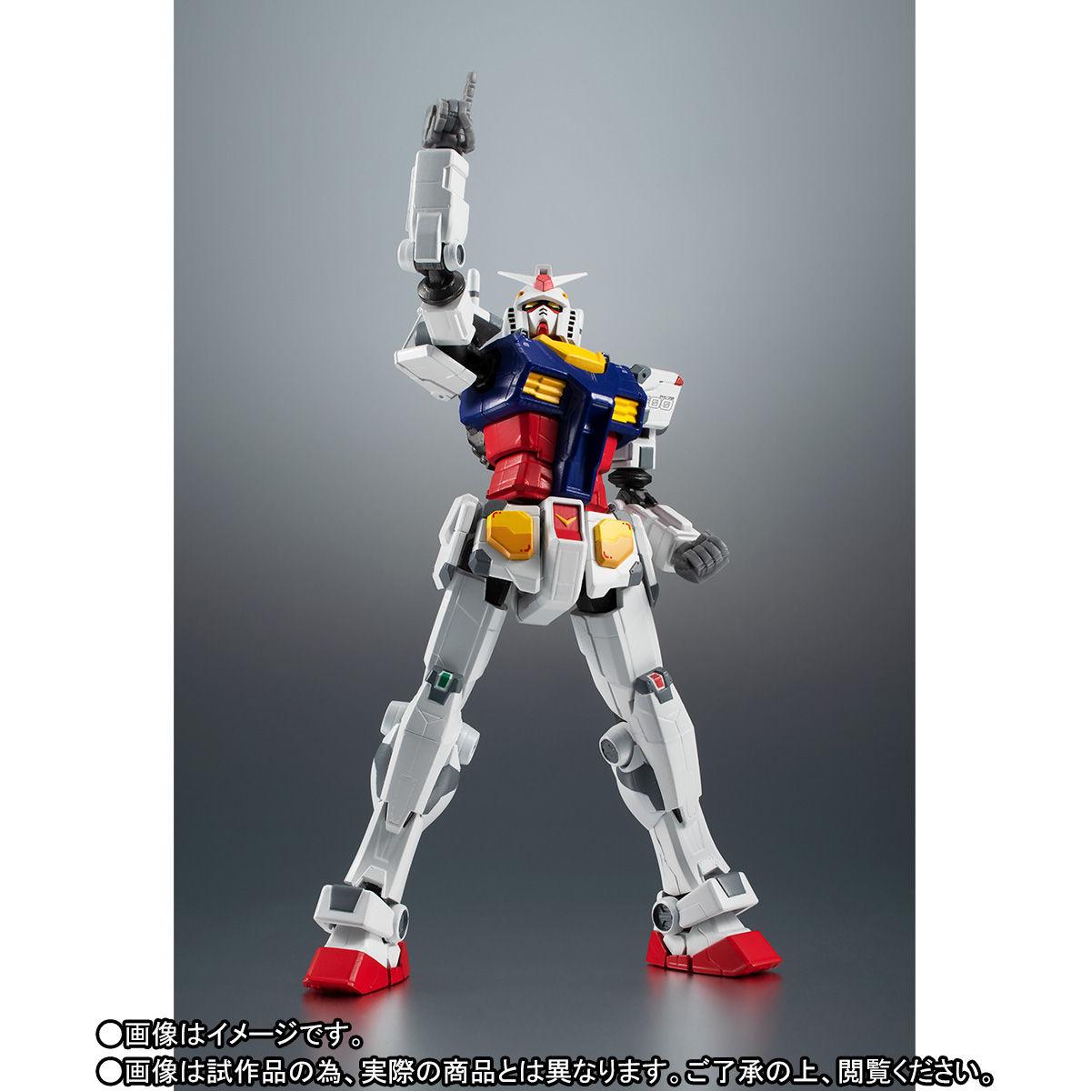 【限定販売】ROBOT魂〈SIDE MS〉『RX-78F00 ガンダム』可動フィギュア-005