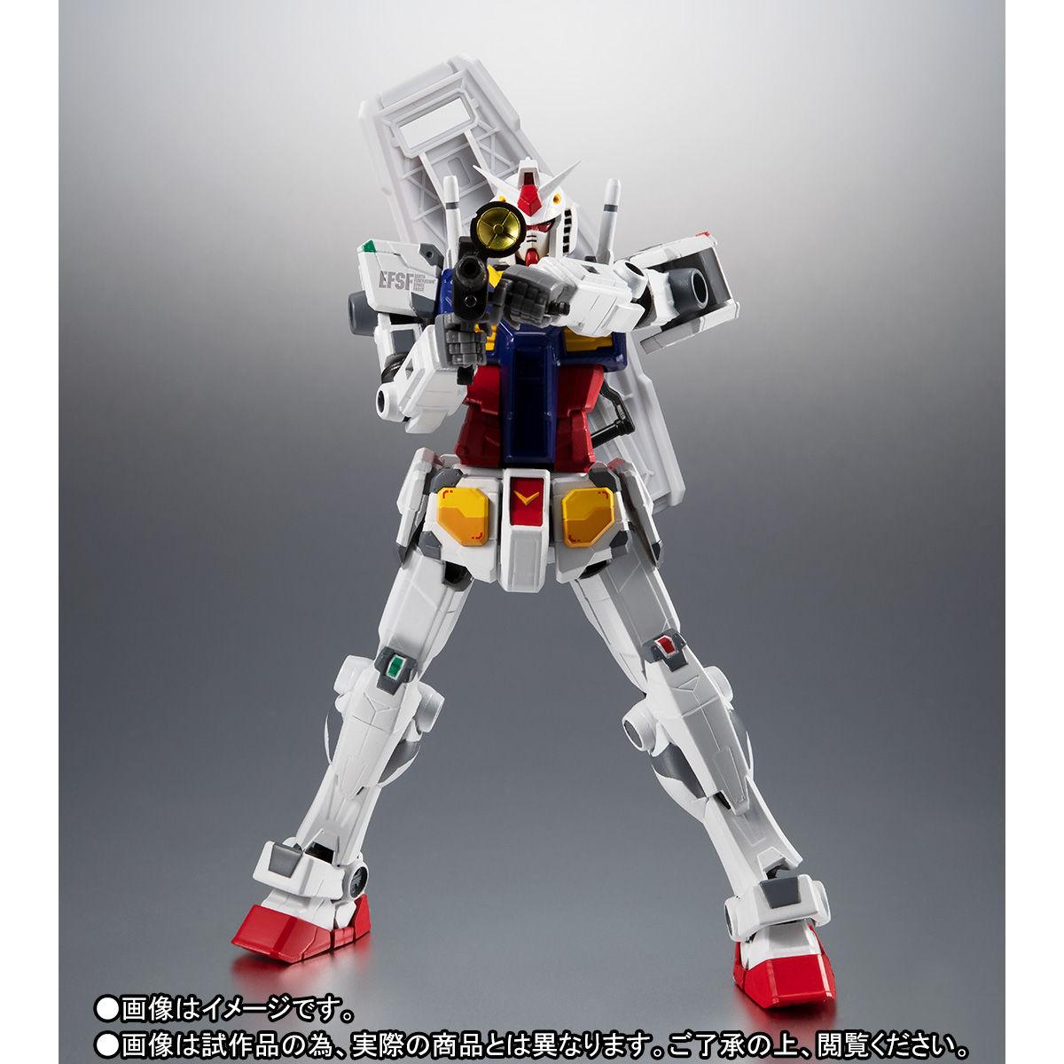 【限定販売】ROBOT魂〈SIDE MS〉『RX-78F00 ガンダム』可動フィギュア-006