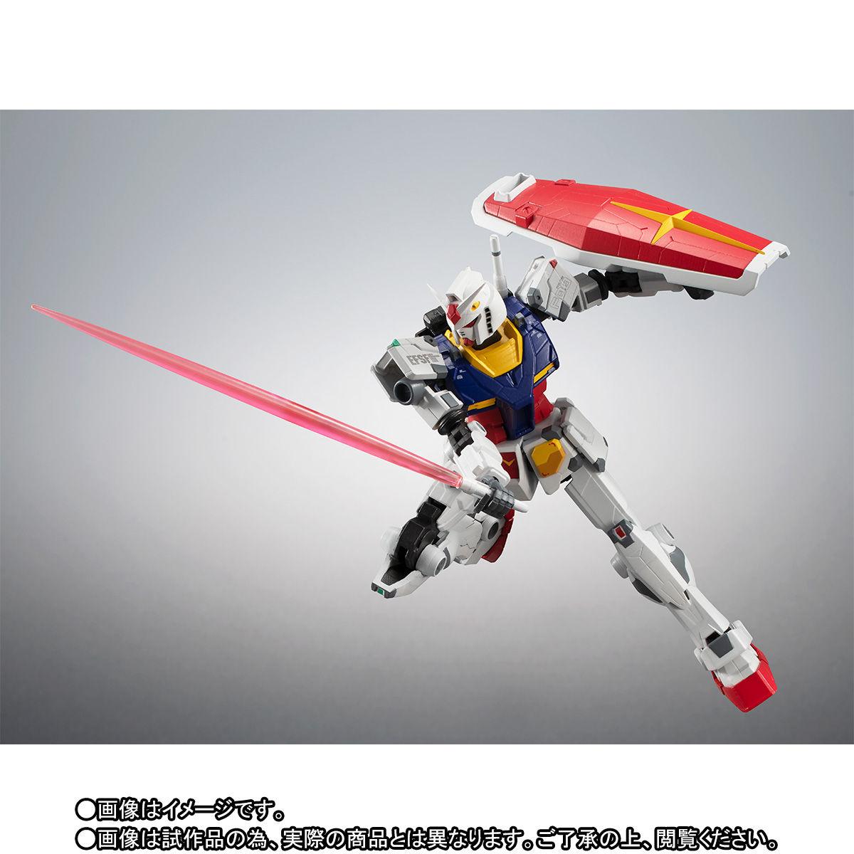 【限定販売】ROBOT魂〈SIDE MS〉『RX-78F00 ガンダム』可動フィギュア-007