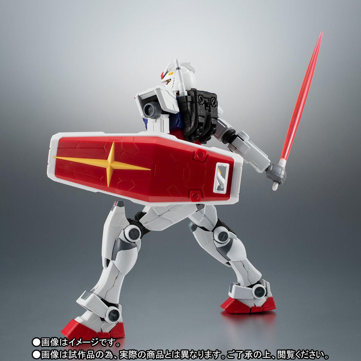 【限定販売】ROBOT魂〈SIDE MS〉『RX-78F00 ガンダム』可動フィギュア-008