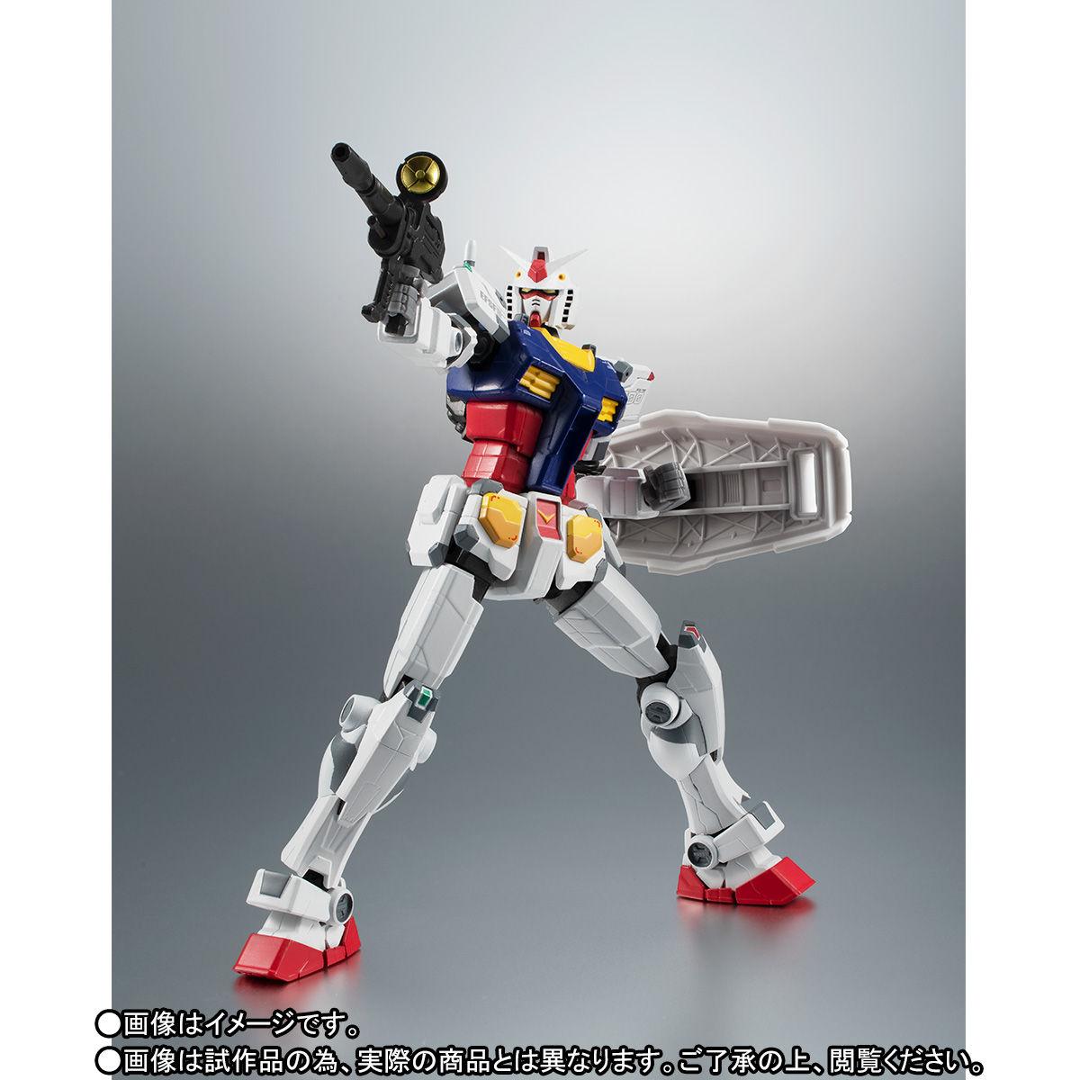 【限定販売】ROBOT魂〈SIDE MS〉『RX-78F00 ガンダム』可動フィギュア-009