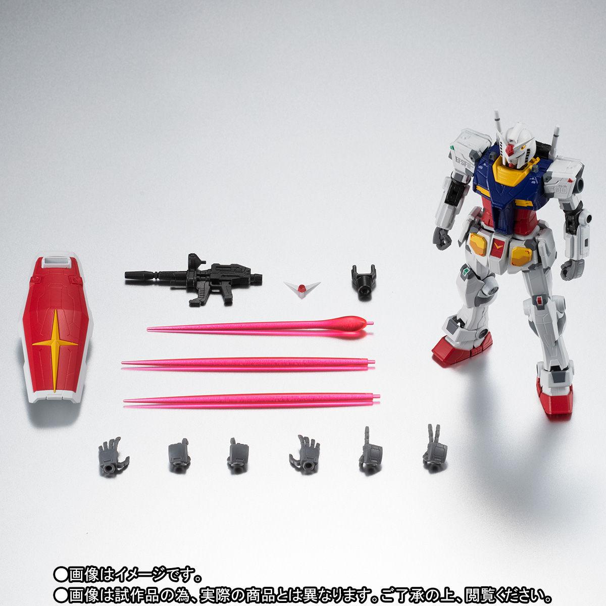 【限定販売】ROBOT魂〈SIDE MS〉『RX-78F00 ガンダム』可動フィギュア-010