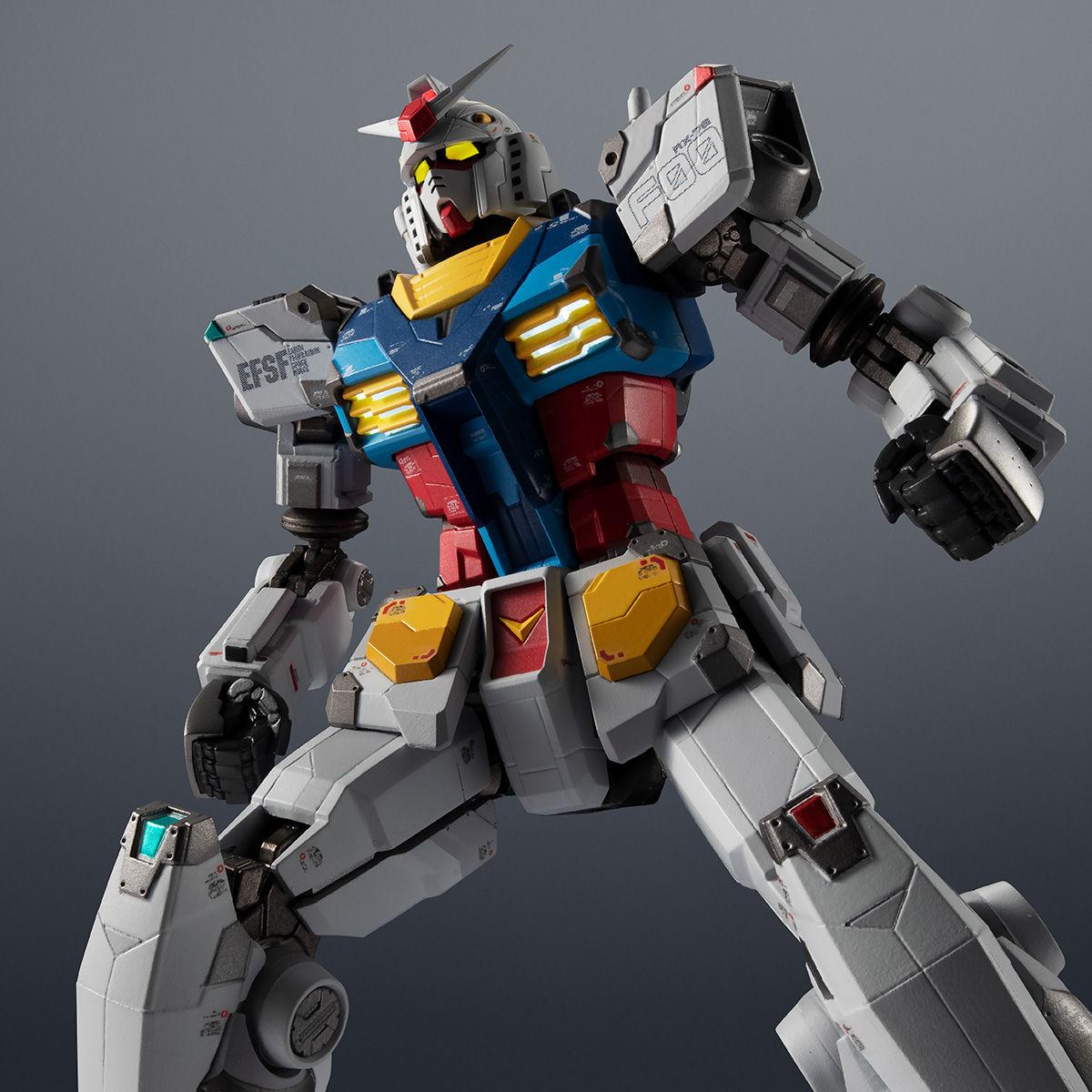 【限定販売】超合金×GUNDAM FACTORY YOKOHAMA『RX-78F00 GUNDAM』可動フィギュア-001